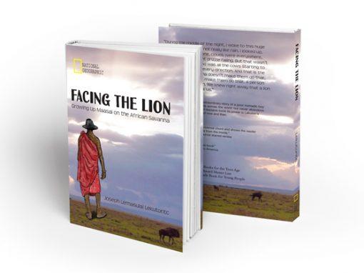'Facing The Lion' book jacket