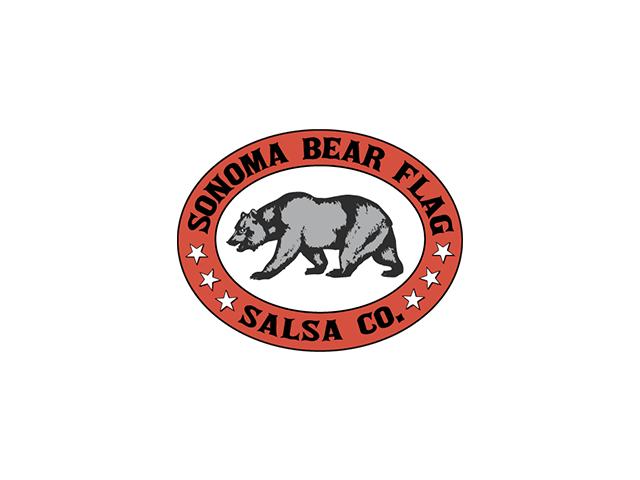 Sonoma Bear Flag Salsa Co. logo