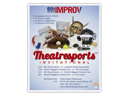 6th St. Improv Theatresports poster