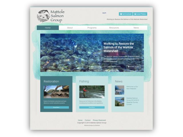 Mattole Salmon Group's website