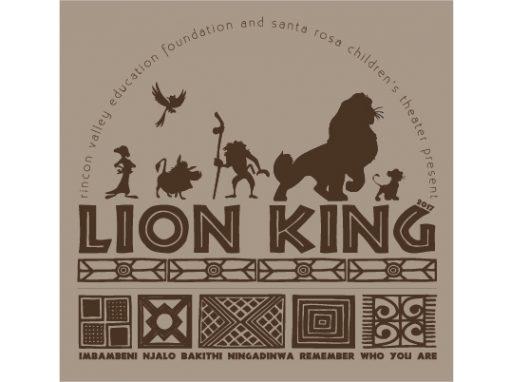 Lion King Tshirt artwork